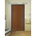 Security door, class 2, smooth H210