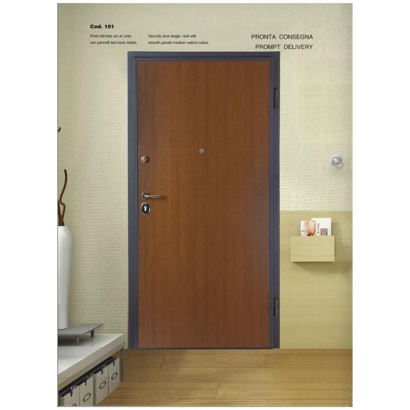 Porta blindata classe 4 liscia h210 - Paletto porta blindata ...