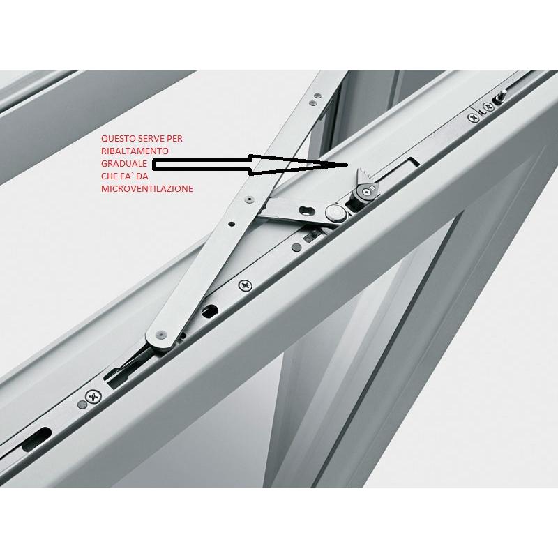 Porta finestra a 2 ante con traverso da ristrutturazione porte shop - Dimensioni porta finestra 2 ante ...
