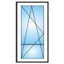 Porta finestra a 1 anta con traverso Ovlo 6 camere